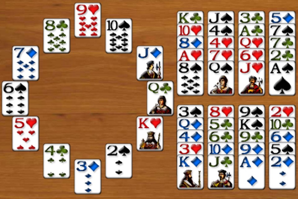 Screenshot Solitaire 3D Deluxe