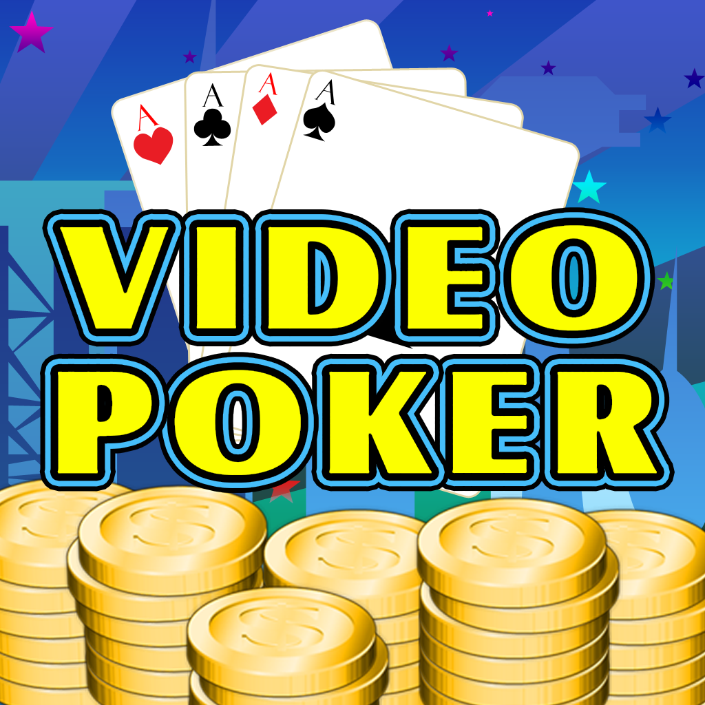 Absolute Video Poker - Las Vegas Style Video Poker Game with Jacks or Better Bonus Poker Deluxe & Other Fun Poker games