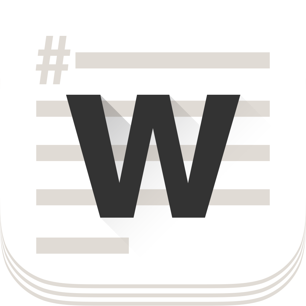 WordEver. Text editor with MarkDown, bult-in Web browser and gestures cursor control (AppStore Link)